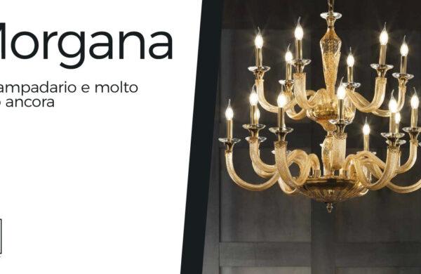 Lampadario Morgana